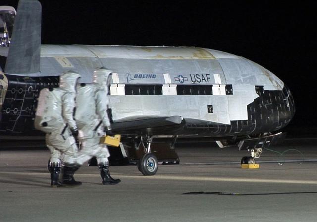 X37B USAF spaceplane