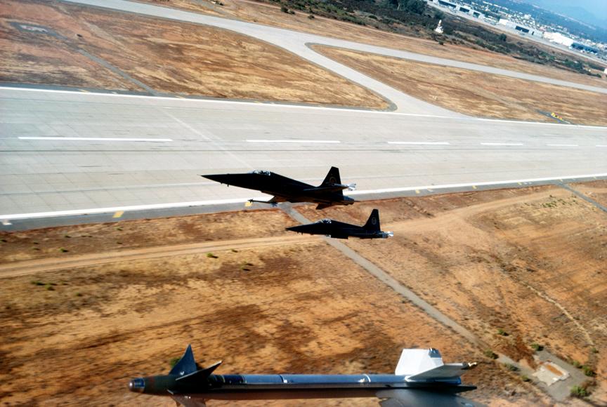 F-5 (MiG-28) takeoff