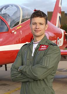 Flt Lt Tom Bould