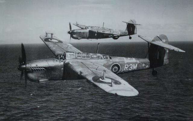 Fairey Barracuda Mk2 With Mk3 Behind